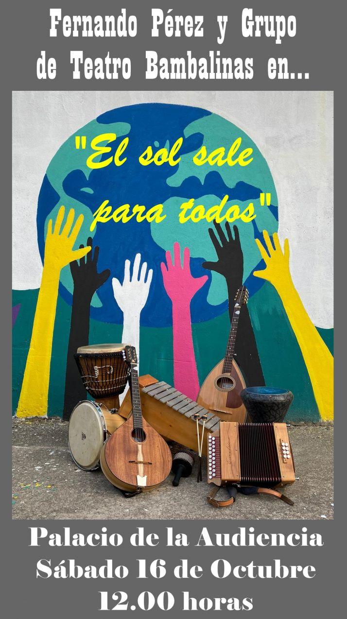 El espectáculo 'El sol sale para todos' llega a Soria | Imagen 1