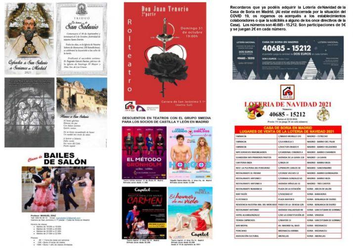 La Casa de Soria en Madrid comienza el curso con numerosas actividades | Imagen 2
