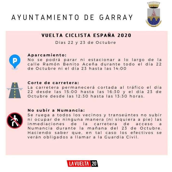 La Vuelta pide a los sorianos que no acudan a ver el paso de los ciclistas por la provincia | Imagen 1
