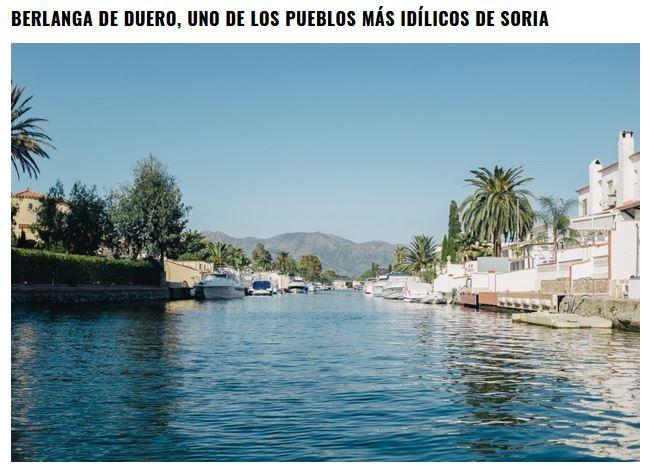 El surrealista artículo sobre los pueblos más bonitos de Soria… que no da ni una   Imagen 1