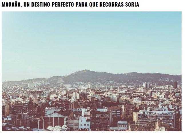 El surrealista artículo sobre los pueblos más bonitos de Soria… que no da ni una   Imagen 4