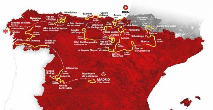 Todo lo que necesitas saber para disfrutar del paso de la Vuelta a España por Soria  | Imagen 1