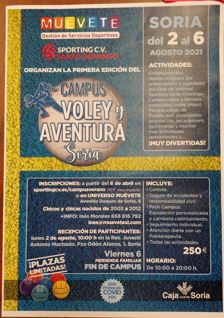 El Voley, el mejor plan para los niños este verano en Soria | Imagen 1