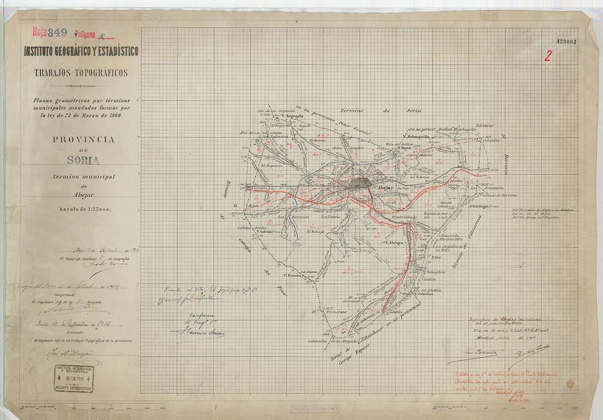 Mapas: Así eran estos 20 pueblos sorianos hace 100 años  | Imagen 1