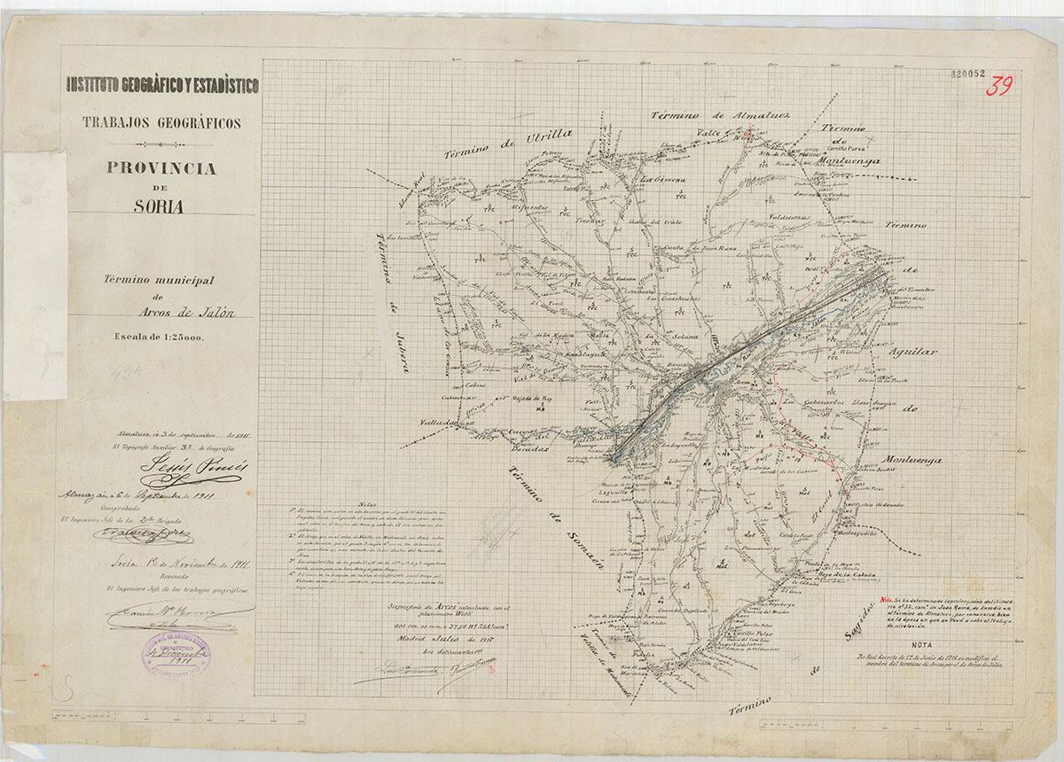 Mapas: Así eran estos 20 pueblos sorianos hace 100 años  | Imagen 4