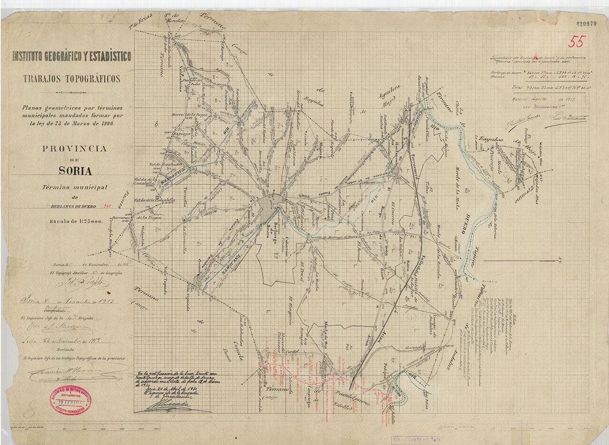 Mapas: Así eran estos 20 pueblos sorianos hace 100 años  | Imagen 5
