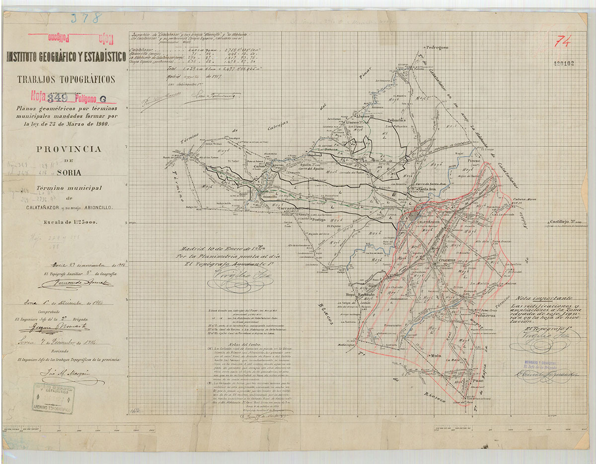 Mapas: Así eran estos 20 pueblos sorianos hace 100 años  | Imagen 6