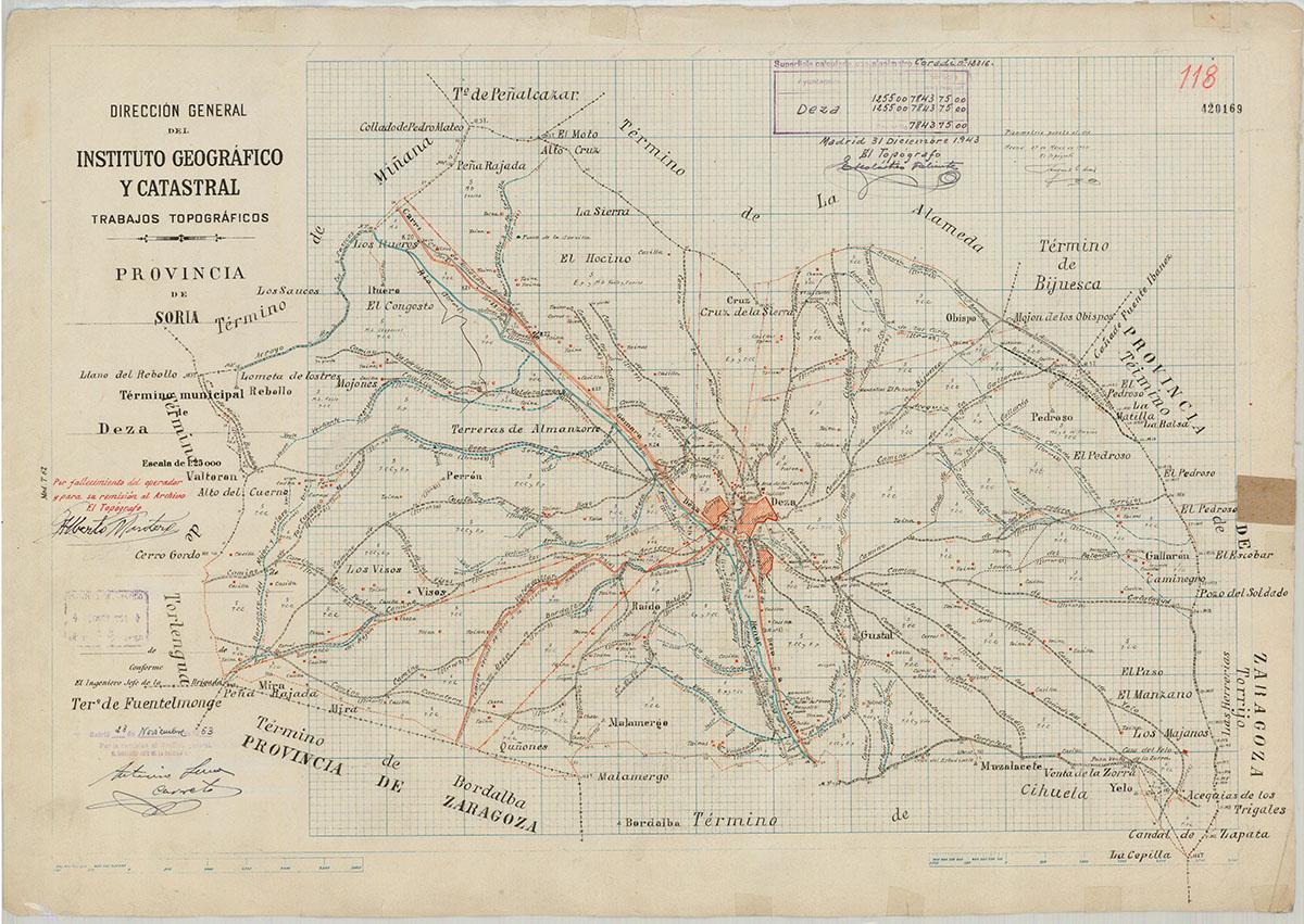 Mapas: Así eran estos 20 pueblos sorianos hace 100 años  | Imagen 7