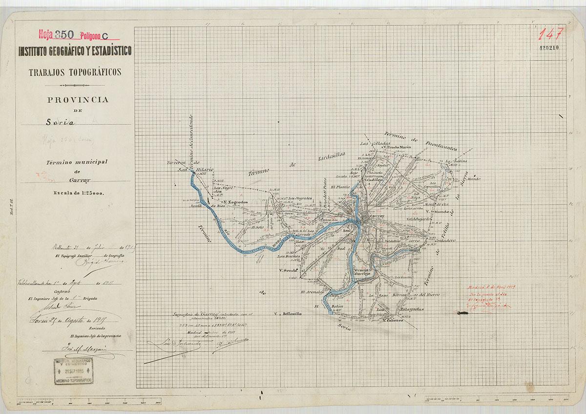 Mapas: Así eran estos 20 pueblos sorianos hace 100 años  | Imagen 9