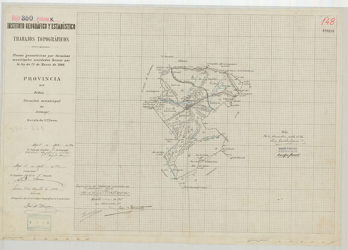 Mapas: Así eran estos 20 pueblos sorianos hace 100 años  | Imagen 10