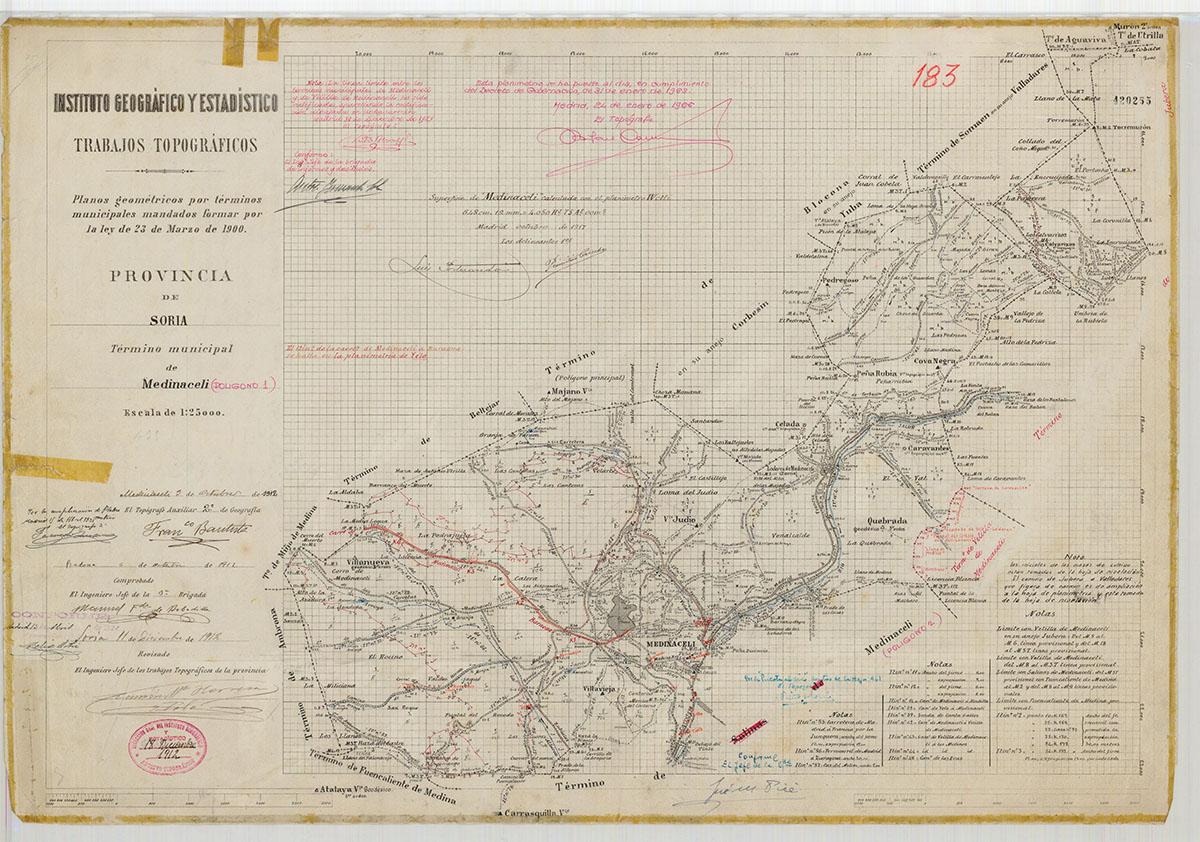 Mapas: Así eran estos 20 pueblos sorianos hace 100 años  | Imagen 11