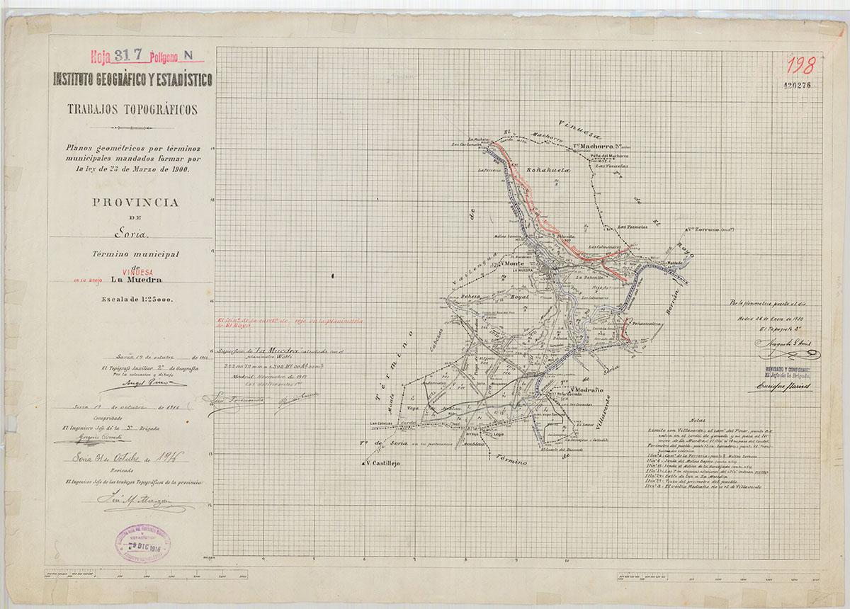 Mapas: Así eran estos 20 pueblos sorianos hace 100 años  | Imagen 12