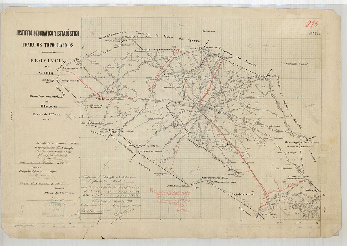 Mapas: Así eran estos 20 pueblos sorianos hace 100 años  | Imagen 13