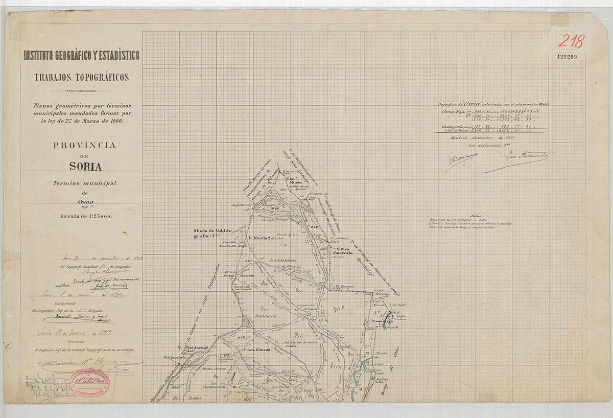 Mapas: Así eran estos 20 pueblos sorianos hace 100 años  | Imagen 14