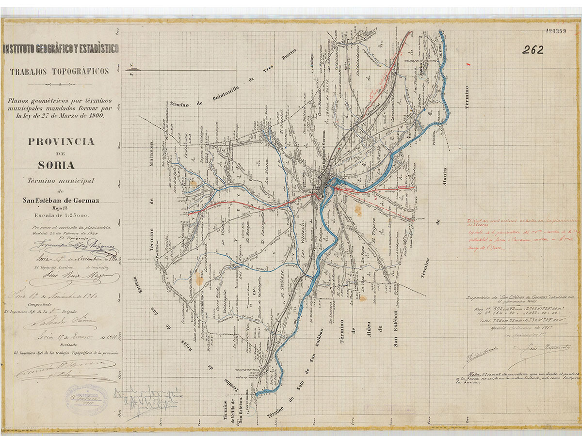Mapas: Así eran estos 20 pueblos sorianos hace 100 años  | Imagen 15