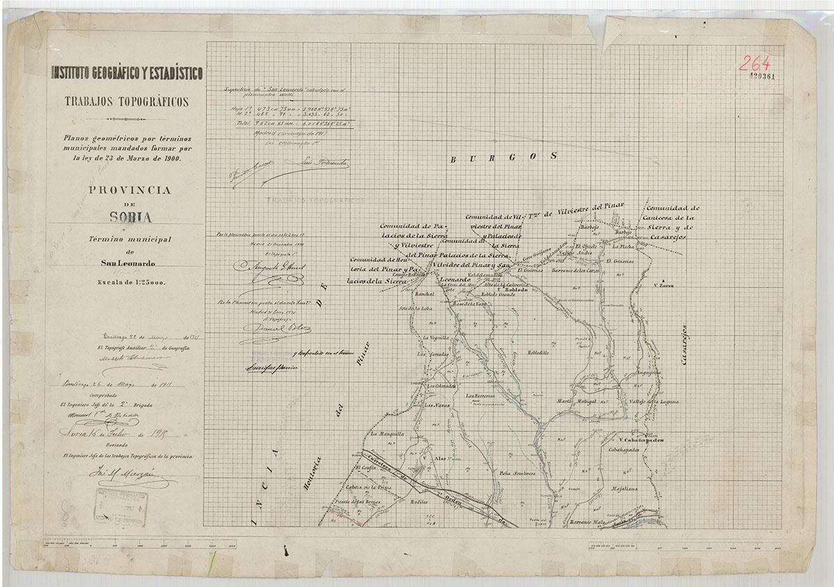 Mapas: Así eran estos 20 pueblos sorianos hace 100 años  | Imagen 16
