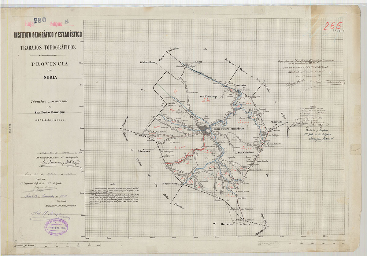 Mapas: Así eran estos 20 pueblos sorianos hace 100 años  | Imagen 17