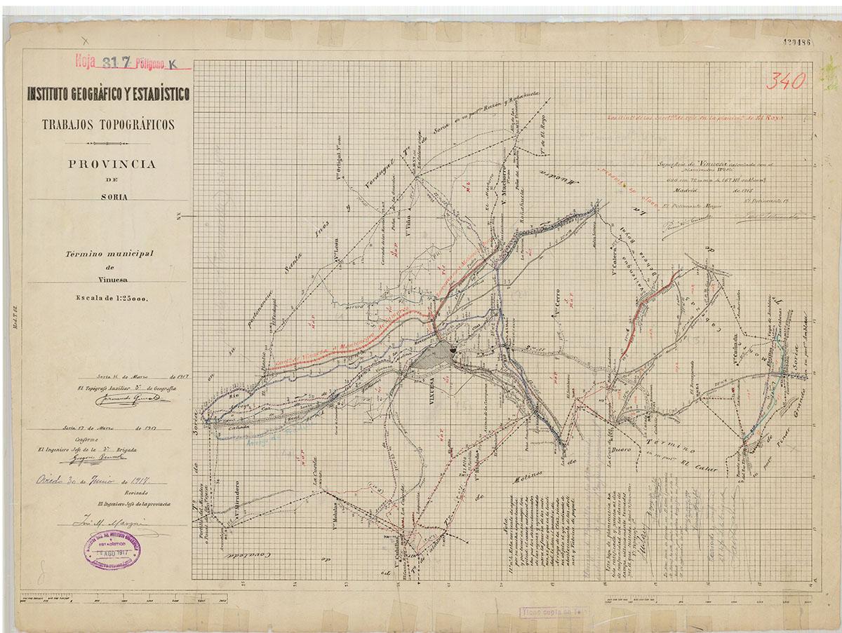 Mapas: Así eran estos 20 pueblos sorianos hace 100 años  | Imagen 19