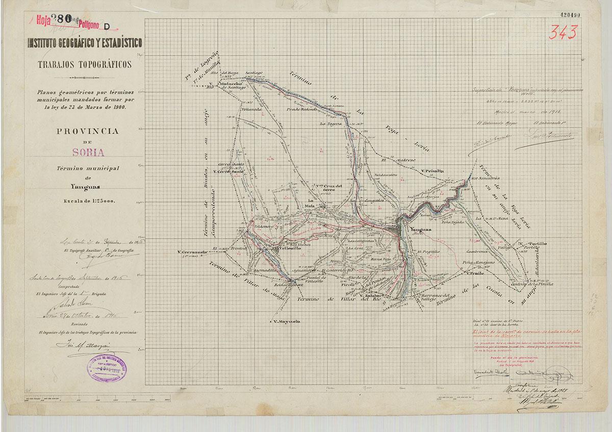 Mapas: Así eran estos 20 pueblos sorianos hace 100 años  | Imagen 20
