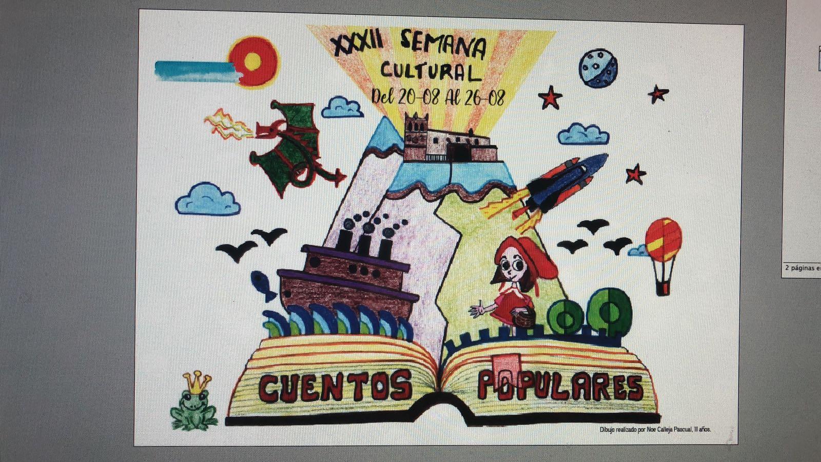Del 20 al 26 de agosto, XXXII Semana Cultural en Morón de Almazán   Imagen 1