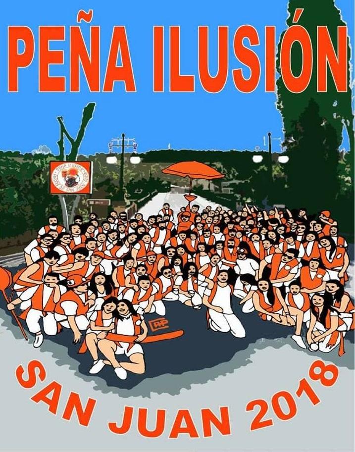 Peña Ilusión, también tiene ya su banderín para San Juan 2018   Imagen 2