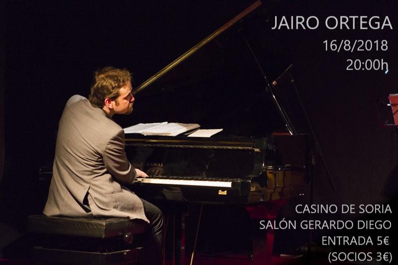 Jairo Ortega ofrece esta tarde un concierto de piano en el Casino   Imagen 1