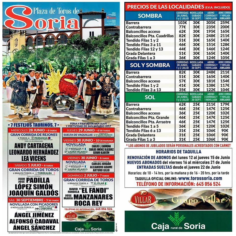 Comienza la venta de abonos para la feria taurina de San Juan | Imagen 1