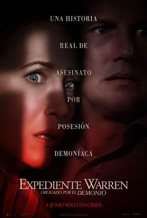 Cartel de Expediente Warren: Obligado por el demonio