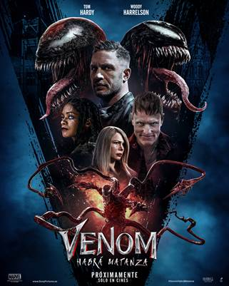 Cartel de Venom: Habrá matanza